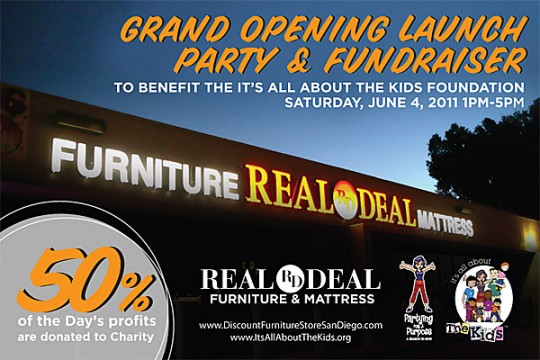 What: Grand Opening Launch Party U0026 Fundraiser For Real Deal Furniture ...
