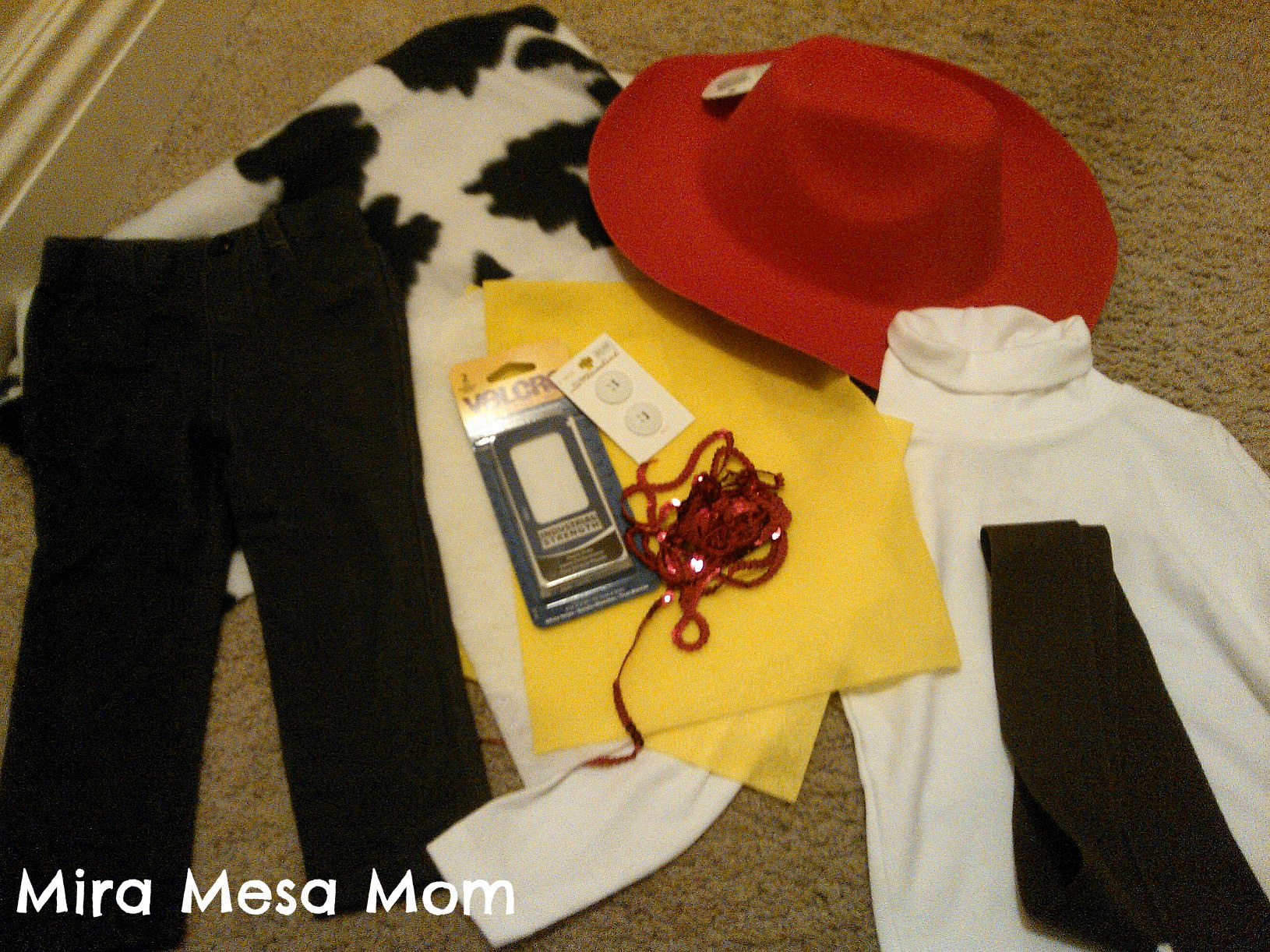 No sew jessie from toy story costume for halloween yee haw the for the hat because it solutioingenieria Images