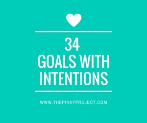 34 Goalswith intentions