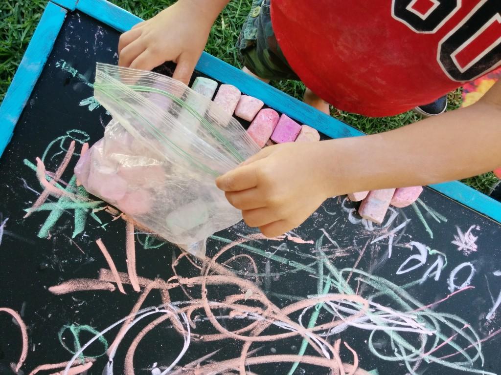 duke on chalkboard
