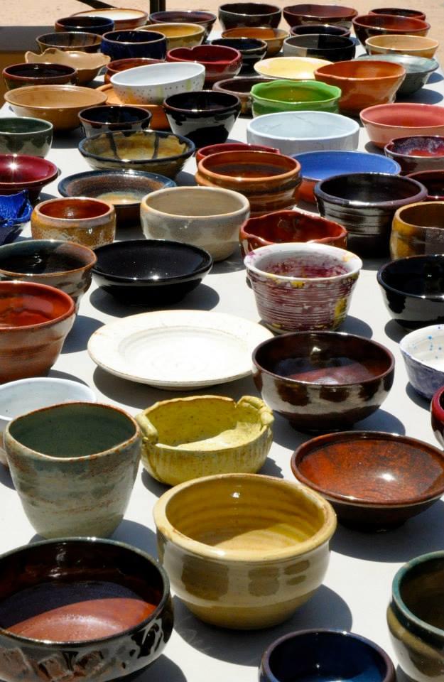 empty bowls_sea of bowls