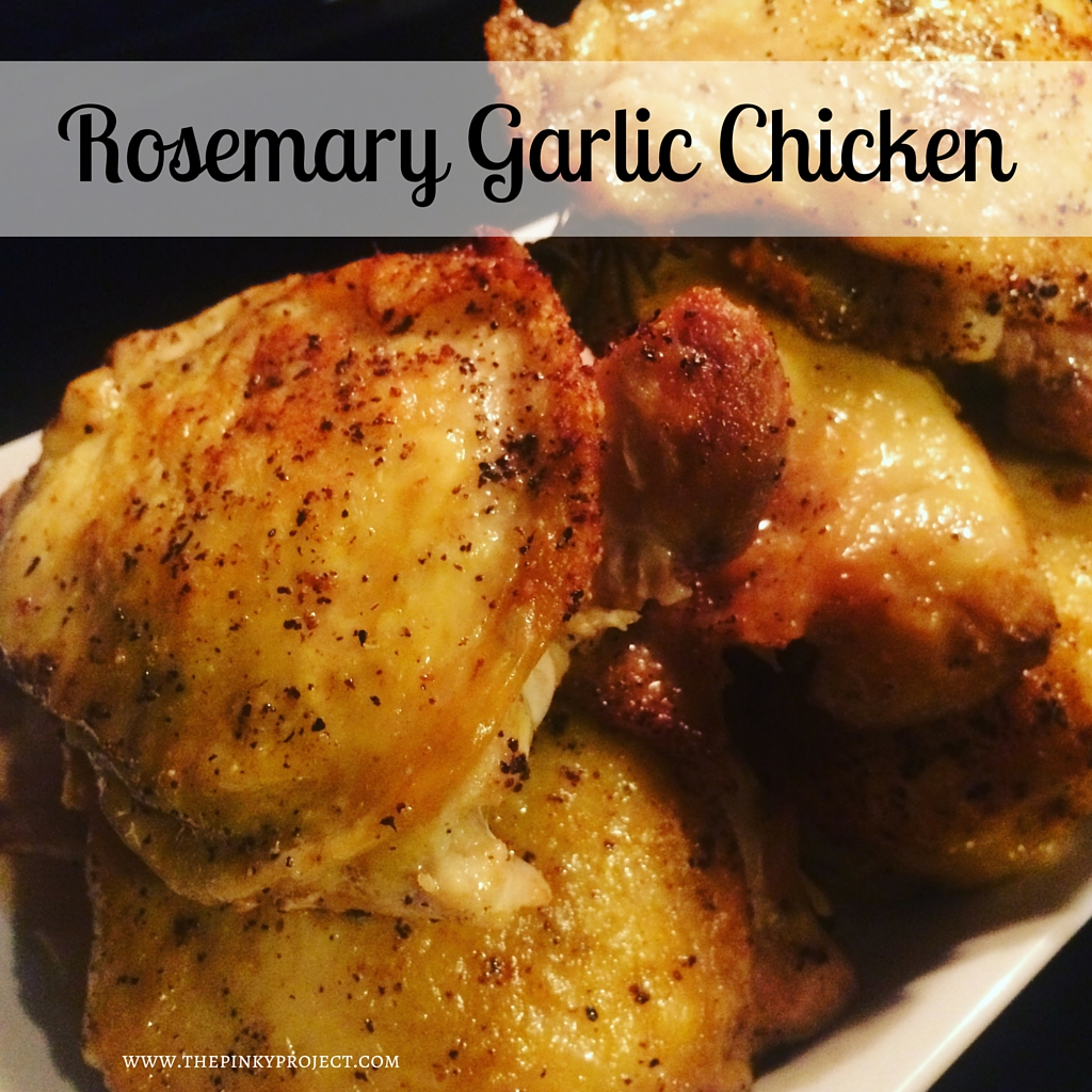 Rosemary Garlic Chicken Recipe_Featured Image