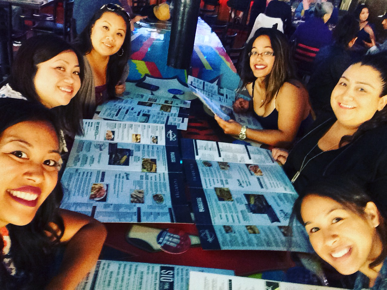 Whiskey Girl Brunch_Group Table Shot