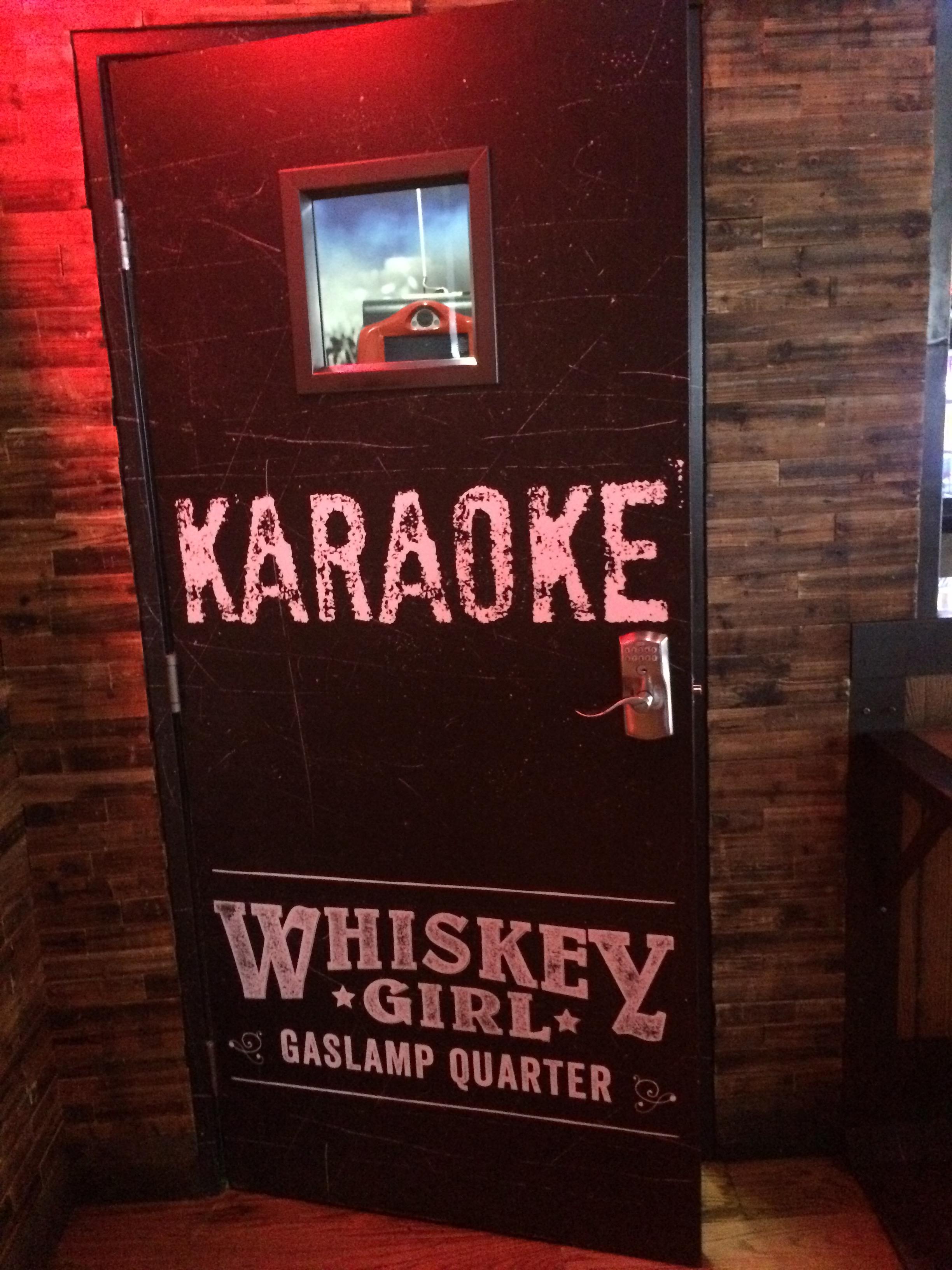 Whiskey Girl Brunch_karaoke room