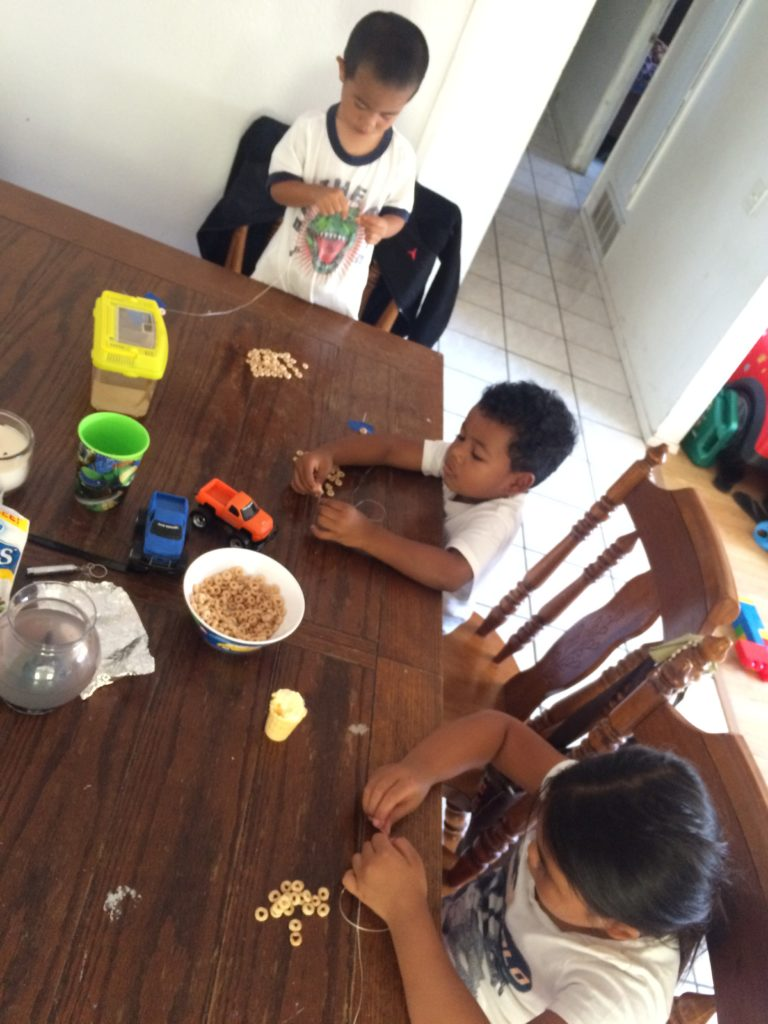 cheerios and kids
