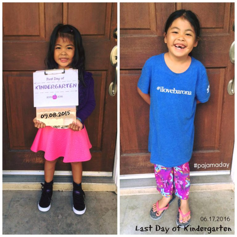 First and Last Day of Kinder