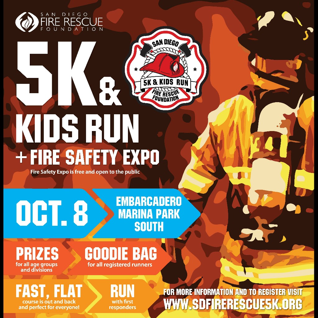 San Diego Fire Rescue 5K_featured image